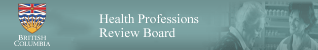 Health Professions Review Board (British Columbia)